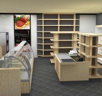Дизайн минимаркета продуктов Дымов