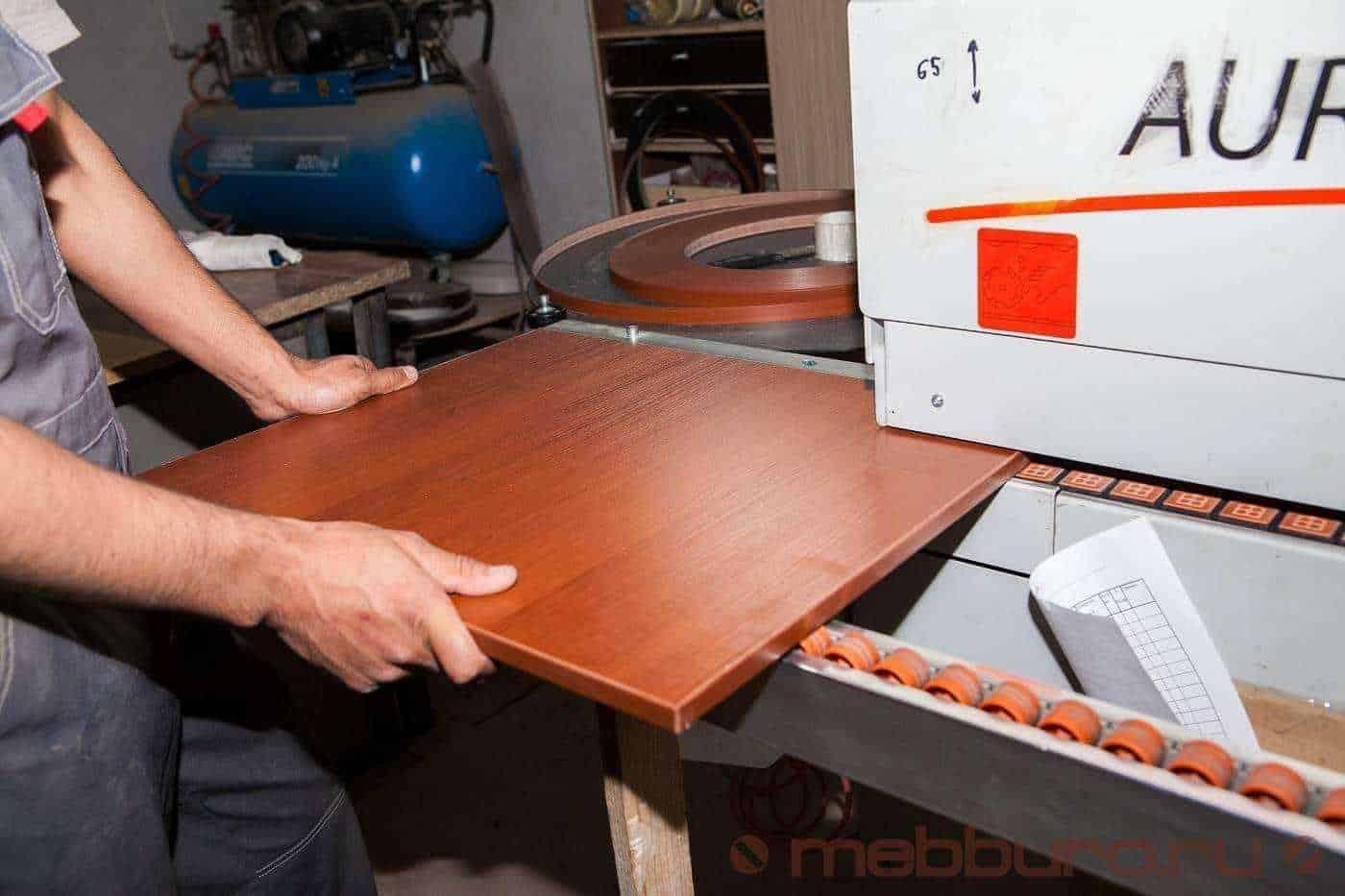 Кромкование мебельной детали