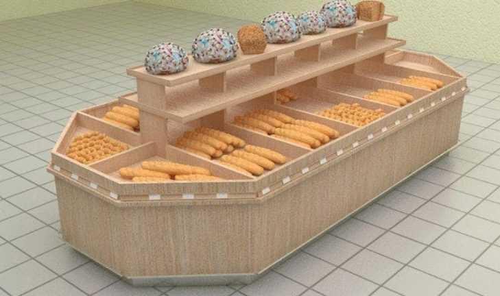 Оборудование для хлебных и кондитерских отделов розничных предприятий