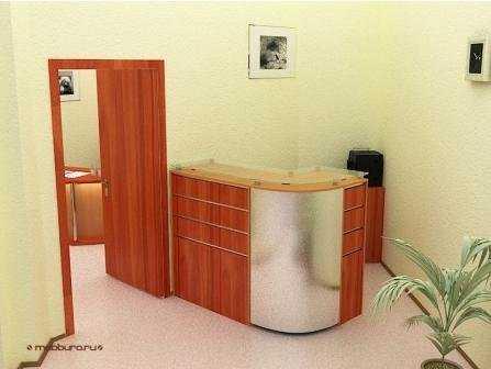 Проект офисной мебели для ЦКБ № 1 РЖД