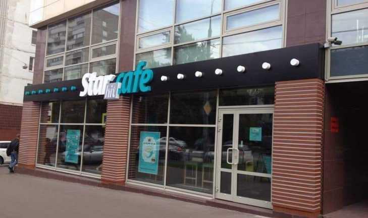 Открытие кофейни StarHit