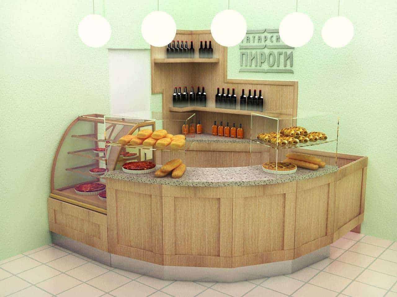 Проект кафе «Татарские пироги»