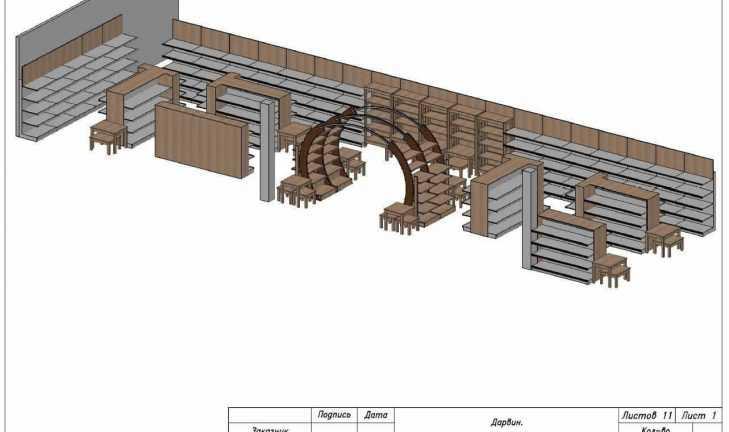 Разработка технического проекта дачного супермаркета в г. Солнечногорске