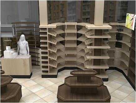 Разрабатывается дизайн-концепция оформления нового супермаркета
