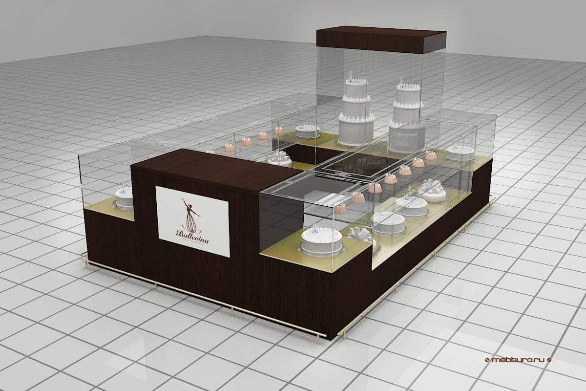 Разработана дизайн-концепция для кафе-кондитерской
