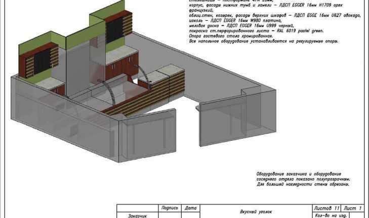 Разработан технический проект для готовой кулинарии