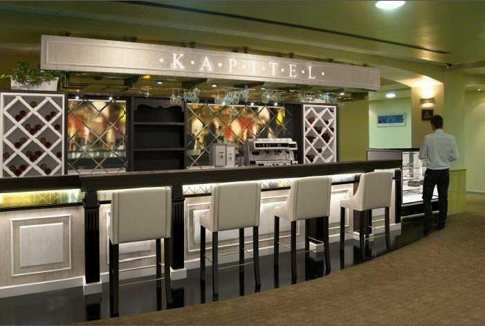 Апгрейд барной стойки для ресторана Kapitel