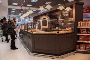 Запущены в производство хлебные корнеры «Мировые пироги» для сети магазинов «Алые Паруса»