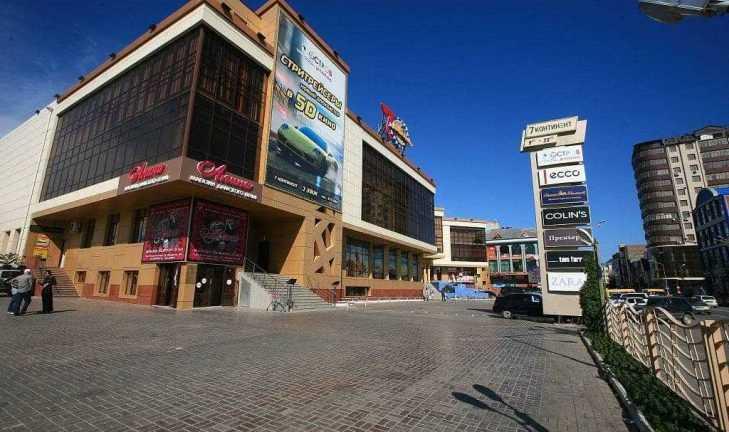 Дизайн-проект для магазина площадью 1400 кв.м.