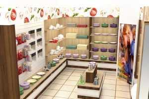 Разработан дизайн-проект для кухни Юлии Высоцкой, «Едим дома!»
