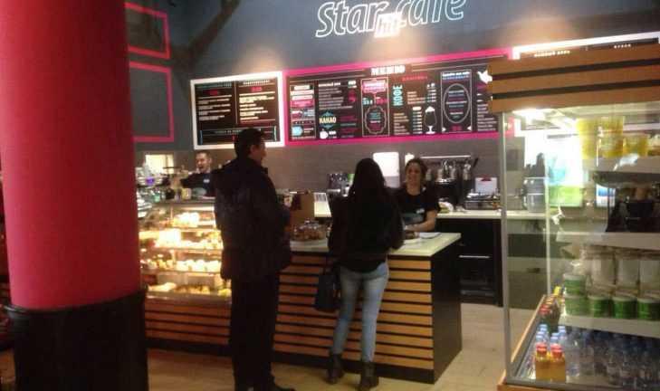 Новое кафе StarHit полностью нами оборудовано