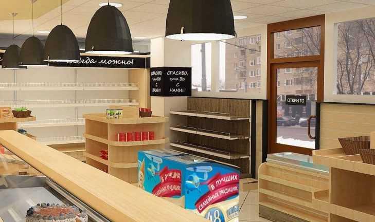 Новый дизайн-проект фирменного магазины «Дымов» в нашем портфолио