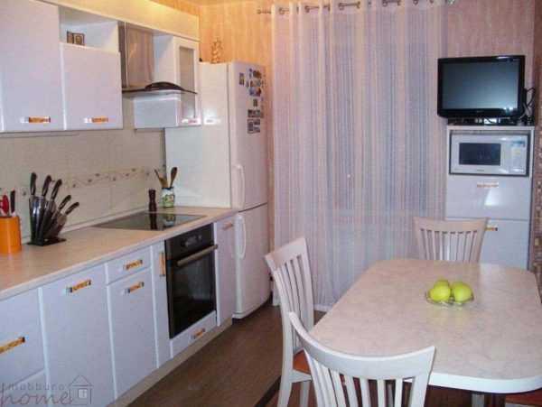 Кухня «Минимализм в белом глянце»
