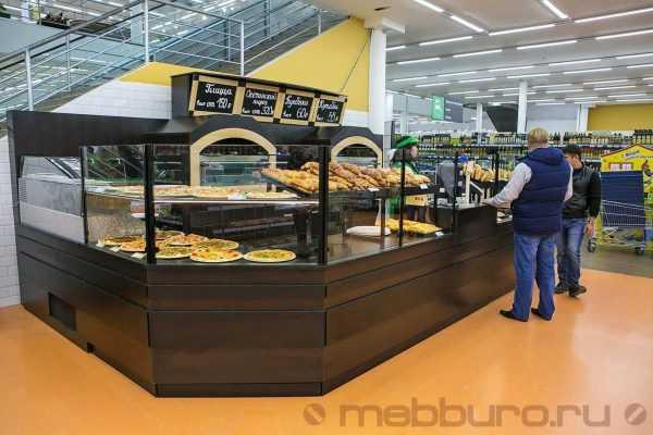 Хлебный корнер в гипермаркет для свежей выпечки собственного производства