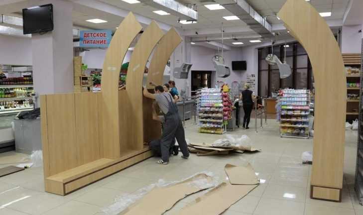 Продолжаем монтаж оборудования в ТЦ «7 континент», г. Махачкала