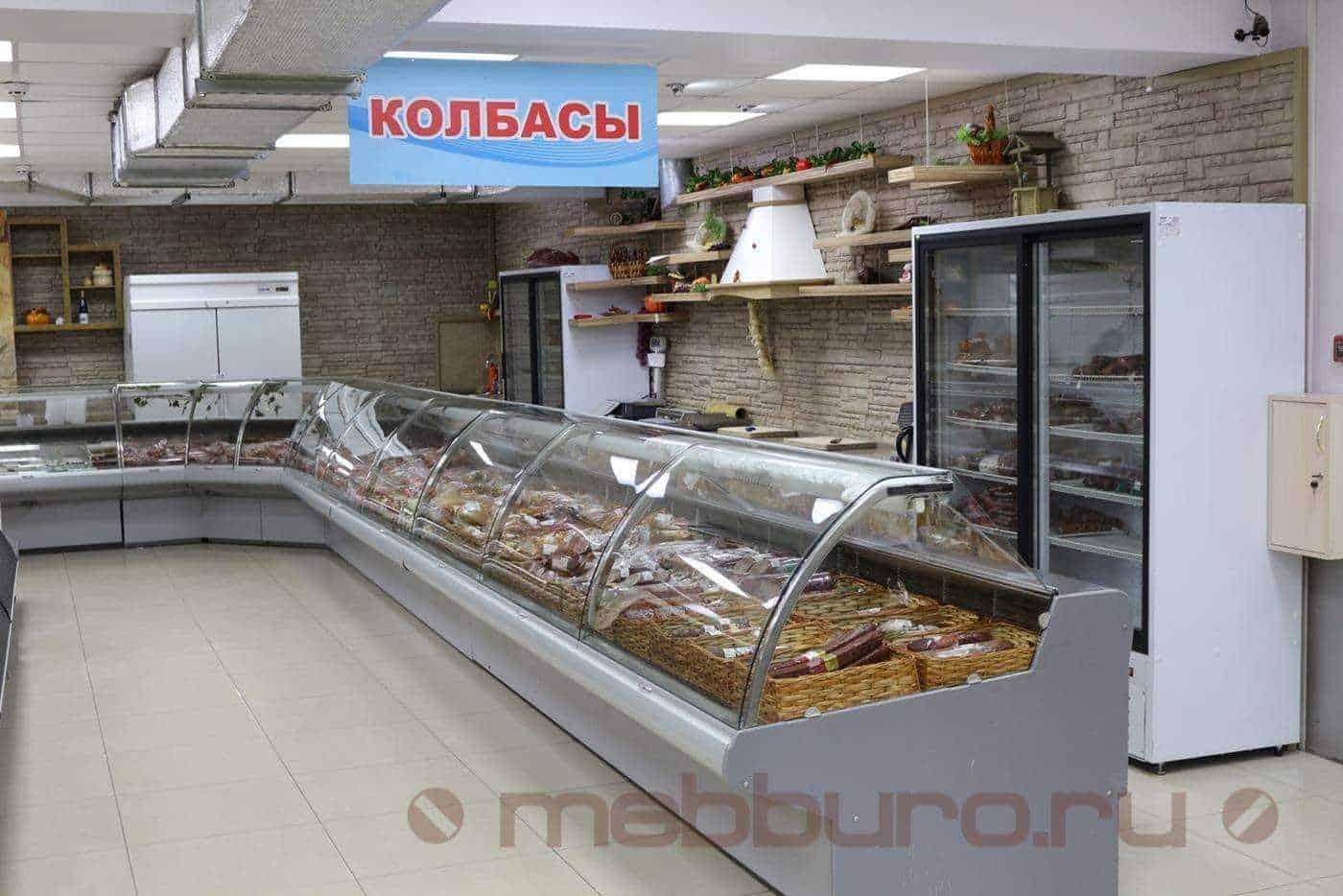 Тип оборудования: холодильная витрина.
