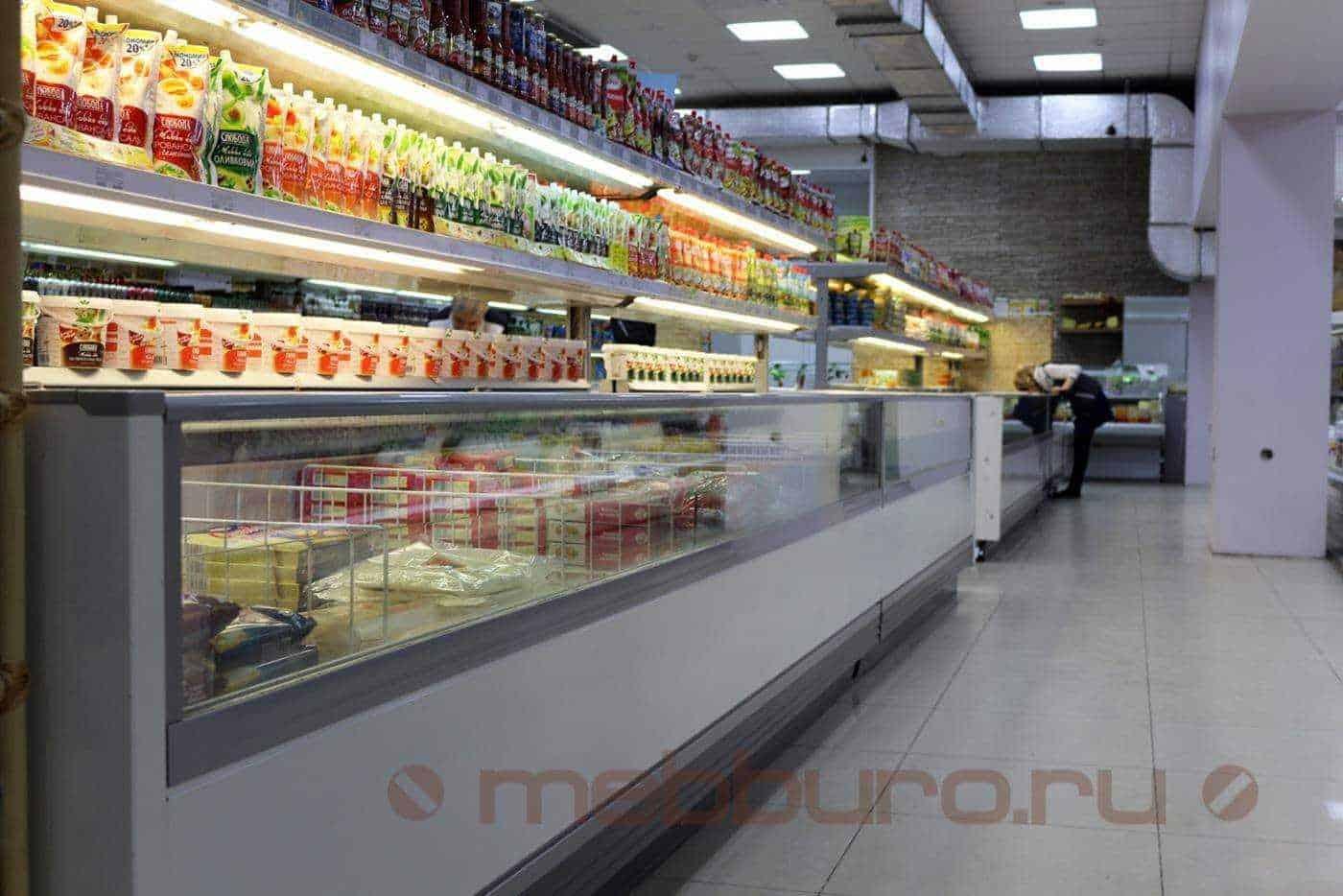 Тип оборудования: открытые холодильные бонеты