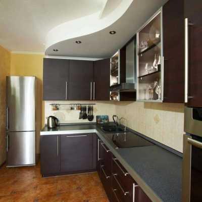 Кухня «Дуб Хайлэнд Антрацит»