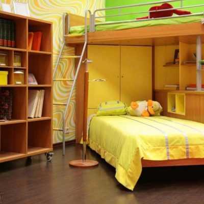 Детская «Ярко-желтый Бук»