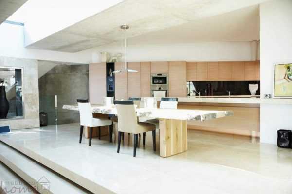 Кухня «Шпон беленого дуба»