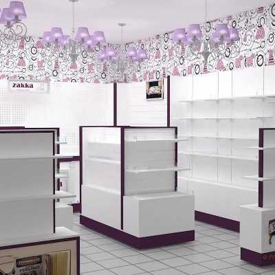 Дизайн магазина канцтоваров