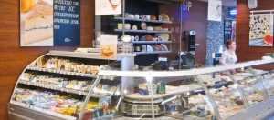Мебель для сырного магазина