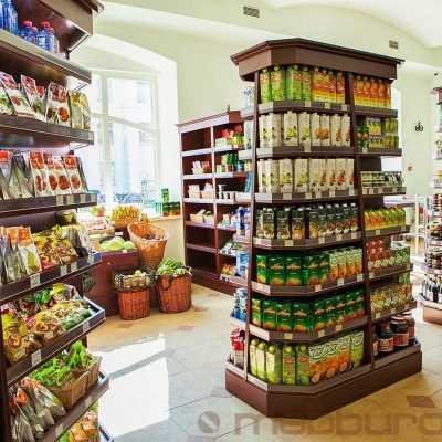 Мебель для магазина продукты