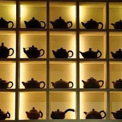 Стеллажи для чая и кофе
