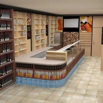Дизайн минимаркета