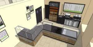 Дизайн-концепция кафе-пекарни