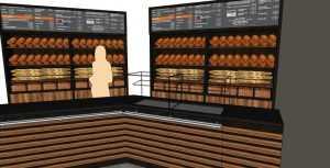 Дизайн-концепция магазина - пекарни