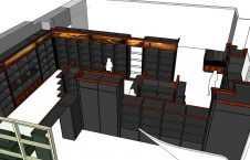 проект торговой мебели для алкоголя