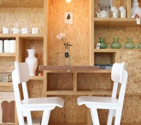 Щиты массива, фанера и плиты ОСБ в производстве мебели
