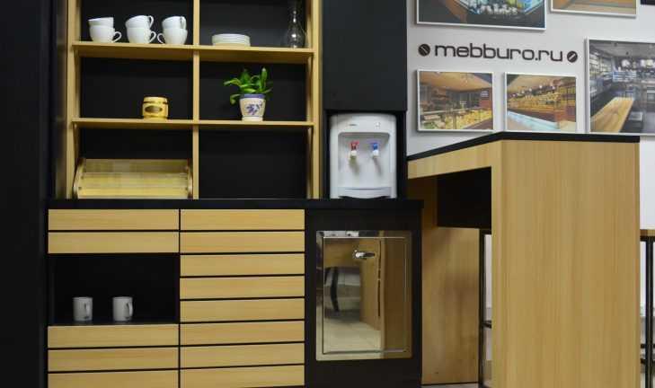 Торговая мебель со встроенным холодильным и барным оборудованием