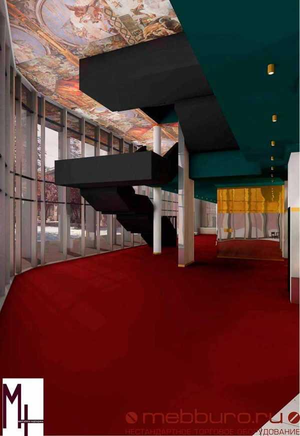 Эскизный проект драматического театра в городе Симферополе