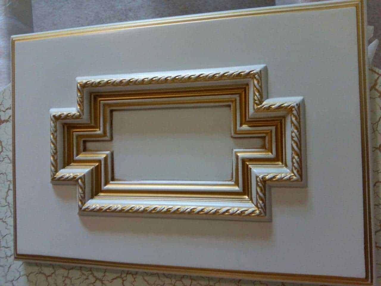 фасад для мебели в стиле раннего барокко