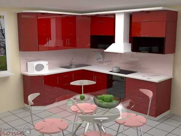 Кухня глянец МДФ