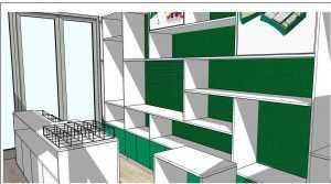 дизайн-проект сувенирного магазина