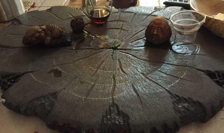 Деловая встреча в чайной студии