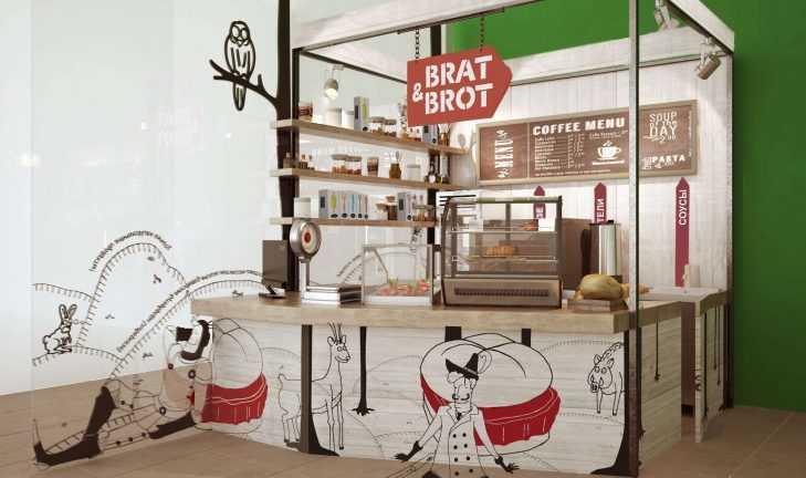 Приступили к разработке проекта для торговой точки «Brat&brot»