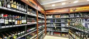 Витрины на заказ для винного магазина