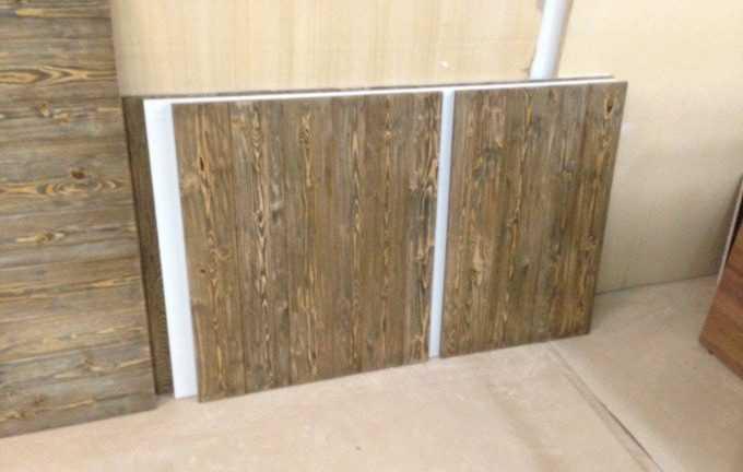 Декоративная панель для облицовки холодильной витрины
