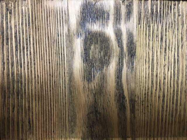 Старение сосны браширование