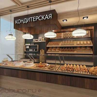 Дизайн пекарни-кондитерской