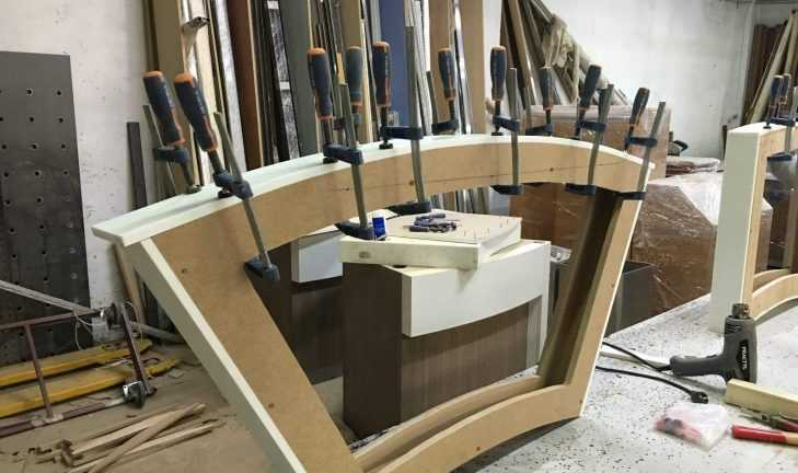 Ремонт торговой мебели