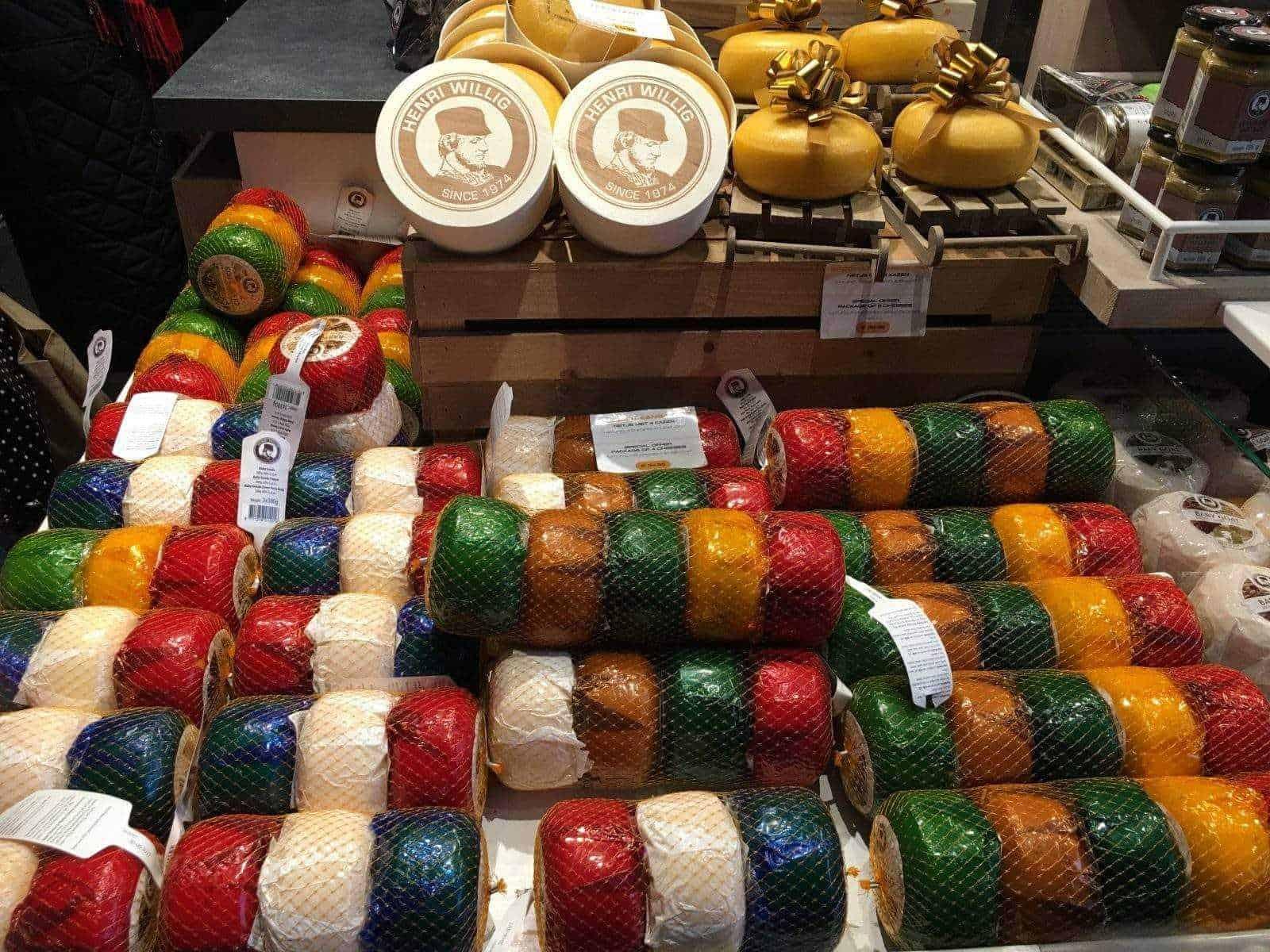 Сырный магазин выкладка