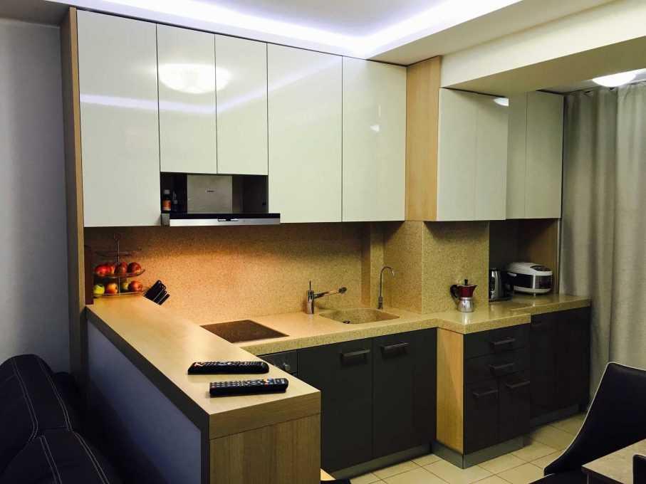 Кухня с новыми фасадами