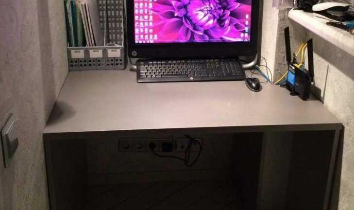 Стол письменный под размер