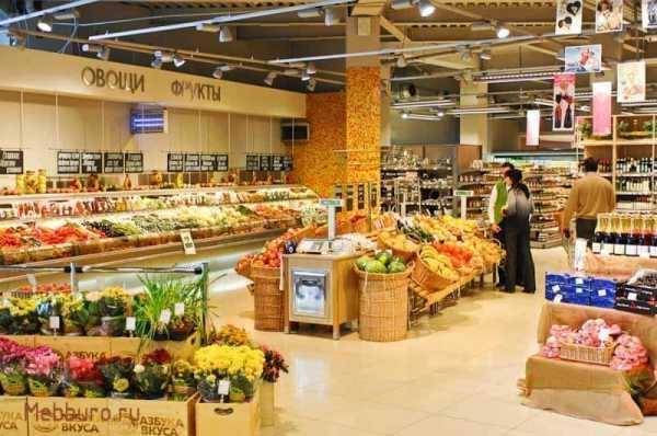 Торговое оборудование для овощей и фруктов