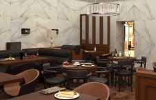 Дизайн проект ресторана вид 1